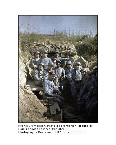 Autochromes de la guerre