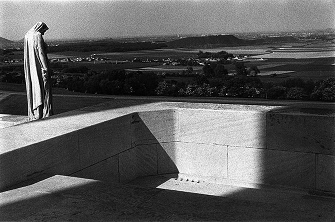 Bruno Réquillart, Parc Mémorial canadien de Vimy