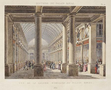 Pierre Auguste Fontaine, Histoire du Palais Royal.