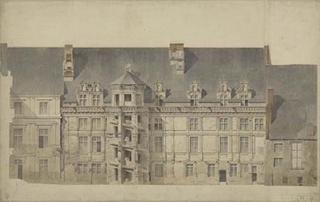 Félix Duban, Château de Blois, Aile dite de François 1er