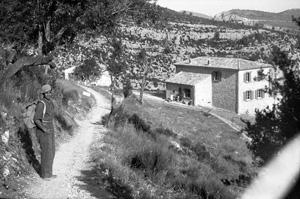 Vue d'ensemble des gorges du Verdon en arrivant par le sentier